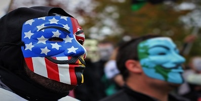 Who is the Leader of Anonymous?